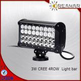 Barre automobile d'éclairage LED de rangée de 9 pouces pour le véhicule 4X4