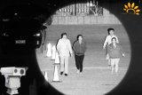 Длинный диапазон лазерной безопасности IP-камера ночного видения