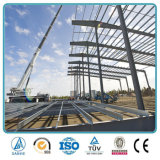 Pre projetando edifício pré-fabricado da construção de aço da história elevada da fábrica dois do hotel da ascensão