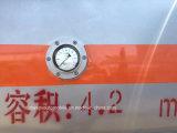 JAC 6 Räder planieren Kraftstoff Bowser LKW des Refuler LKW-5000L