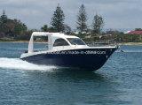 Modelo de 28 pies motor fueraborda barco de pesca de la cabina del Centro para la venta