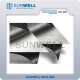 Het GrafietBlad van Sunwell dat met de Folie van het Metaal wordt versterkt