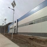 Edifício claro pré-fabricado da oficina da construção de aço com parede do parapeito