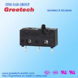 Interruptor Dustproof do micro da ação da pressão do interruptor das aprovações do cUL do UL de ENEC mini micro