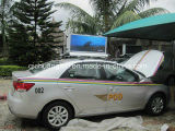 P3 Taxi exterior LED superior pantalla LED de Video