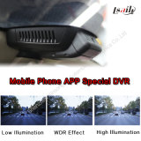 Car novo DVR com WiFi Mirrorlink Functions, HD Wide Angle para Benz