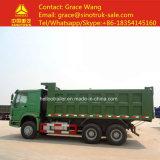 アフリカの道路工事のためのHOWO 6*4のダンプトラック