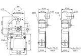 Shell van het metaal Micro- van het Wiel van het Roestvrij staal de Nuttelozere Waterdichte Schakelaar van de Grens (csa-021)