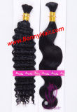 Cabelos, 100% virgem a granel Remy de cabelo humano preço de fábrica, Ordem personalizada está disponível, Extensão de cabelo