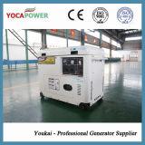 Groupe électrogène diesel du modèle 5.5kVA d'engine silencieuse portative neuve de pouvoir