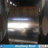 Fiches plates en acier galvanisé et bobines, bobine complet sur le disque en acier galvanisé