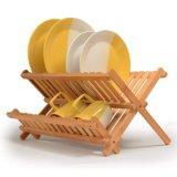 Rack de bambu Eco-Friendly para cápsula de utensílios de cozinha
