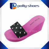 Logotipo do cliente Popular Ladies Wedge Flip Flops