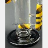 11.02 Zoll-Glasrohr-Filter-Tabak-Wiederanlauf-Glaspfeife