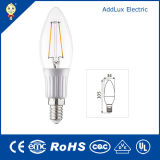 220V 3W E14 SMD Warm White Filament СИД Candle Lamp