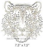 Ferro animale dei Rhinestones di modo sul diamante dell'indumento di trasferimento della zona
