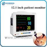 Портативный животных Veterinay жизнедеятельности пациента монитор с помощью параметров