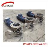 Válvula rotativa de fácil manutenção de aço inoxidável de alta qualidade