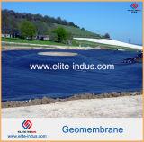Forros de superfície lisos da lagoa do PVC da cor de azul cinzento