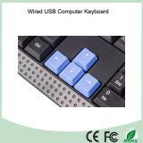 Het koele Toetsenbord USB van de Druk van de Laser van het Ontwerp Waterdichte (kb-1688-BL)
