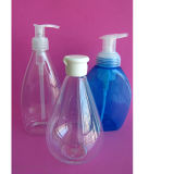 150ml Plastic Cosmetic Boston Pet Bottle Container con Pump