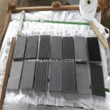 Tegels van de Vloer van het Basalt van Hainan de Grijze Zwarte Antislip voor het Openlucht Bedekken