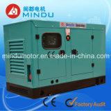 Generador diesel silencioso largo de la garantía 200kw Weichai