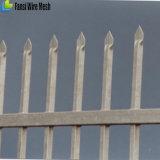 南瓜の上の機密保護の柵ブラケット40 x 40mmの従来に錬鉄の囲うこと