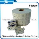 Алюминиевой фольги ламинированной бумаги для бесплодных спирт блока
