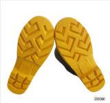 Ботинки предохранения от строительной площадки ботинок дождя ботинок безопасности