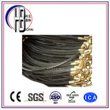 L'excellente usine matérielle fournissent directement à un boyau tressé par fil le prix inférieur