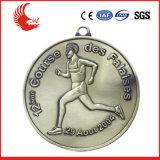 La vente chaude conçoivent la médaille en fonction du client de la Russie en métal avec le logo