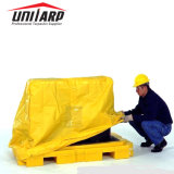 ジッパーが付いている防水PVC防水シートパレットカバー