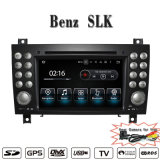 Навигация автомобиля DVD GPS Android 7.1-2+16g Carplay Anti-Glare для Benz Slk Radio DVD Мерседес с телефоном Connectin Hualingan