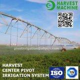 Sistemas de irrigación de la granja/sistema de irrigación agrícola de regadera/tipo de centro sistema del pivote para la irrigación de la agricultura