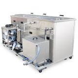 Tanque de limpeza por ultra-sons múltiplos para limpeza do processo de produção