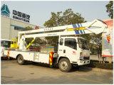 De Lucht Werkende Vrachtwagen van Sinotruk HOWO/Vrachtwagen de Op grote hoogte van het Werkende Platform/de Hoge Vrachtwagen van het Werk van het Platform/LuchtVrachtwagen/Hydraulische Opheffende Vrachtwagen