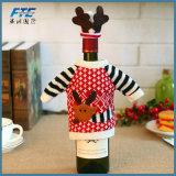 As decorações do Natal do suporte da cerveja do Natal dirigem jogos dos frascos de cerveja