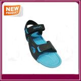 Sandalias calientes de la playa de la venta con color azul
