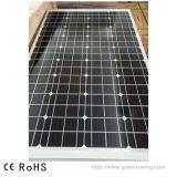 Comitato solare del mono silicone cristallino di PV 160W di alta efficienza (QW-M160W)