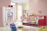 現代漫画デザイン高品質のFabric Bed (HCB012)洗濯できる子供の王女