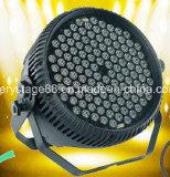 120*3W RGBW LEDの防水同価は屋外の洗浄プロジェクターライトできる