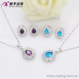 Rhodium van de Luxe Xuping van China de In het groot Nieuwste Reeks van de Juwelen van Zircon