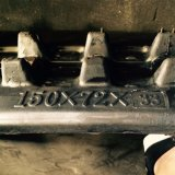 Piste en caoutchouc 150*72*33 pour l'excavatrice de Kubota