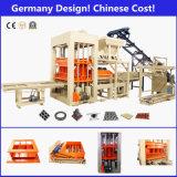 Macchina del mattone, macchina del blocco, blocco che fa macchina, macchina per fabbricare i mattoni