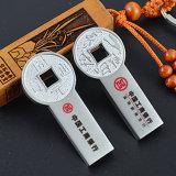Neues altes Münzen USB-Blitz-Laufwerk-Plattenspeicher-Feder-Laufwerk-Zoll-Firmenzeichen