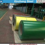 0.42mm PPGI hanno ondulato la bobina d'acciaio galvanizzata ricoperta colore della lamiera di acciaio