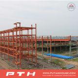 Edificio galvanizado prefabricado de la estructura de acero del bajo costo