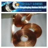 Bande de cuivre adhésive thermoscellée de polyester pour le câble