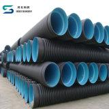 Изготовление водоотводной трубы стены двойника HDPE трубы нечистоты HDPE